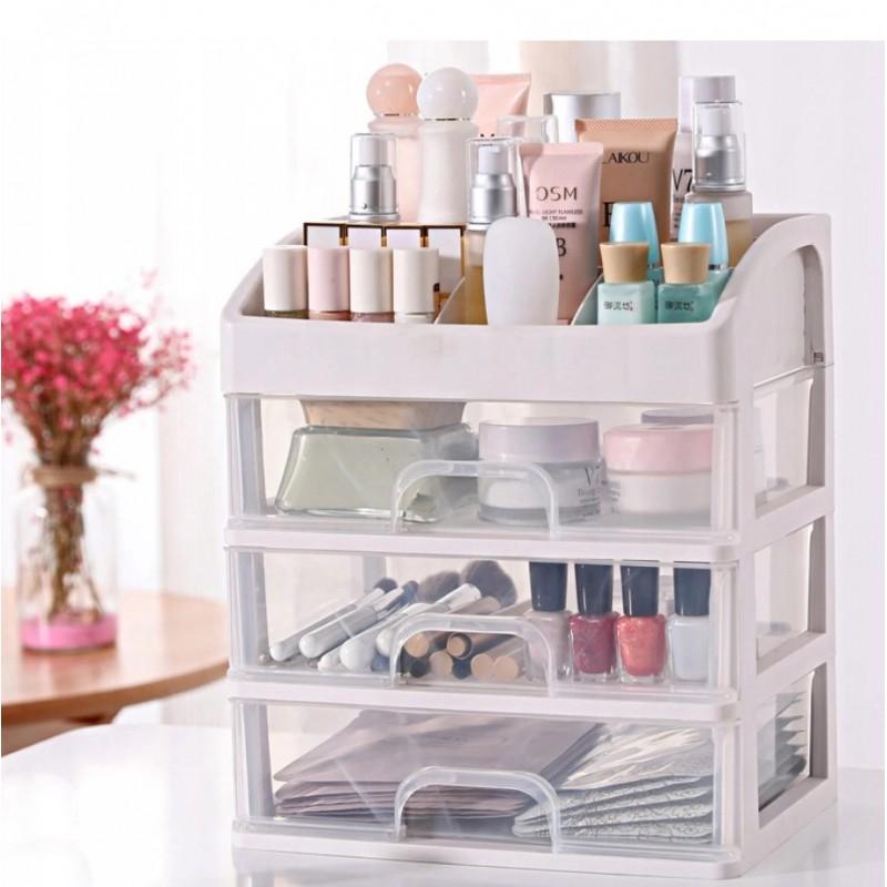 Organizer z szufladką, szkatułka na kosmetyki CB14