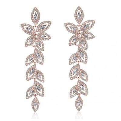Wedding earrings hanging...