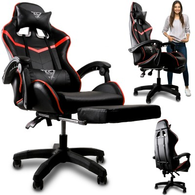 Fotel gamingowy obrotowy z...