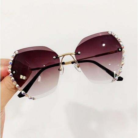 Okulary przeciwsłoneczne z kryształkami OK212WZ3