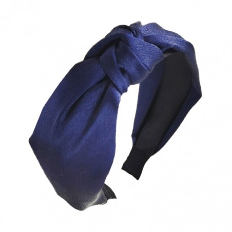 Opaska turban z materiału panterka O228GRAN