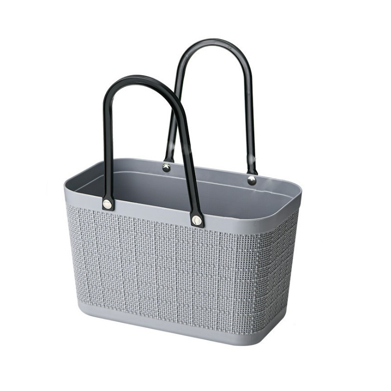 Torebka koszyk zakupowy letni szary ORM03SZ