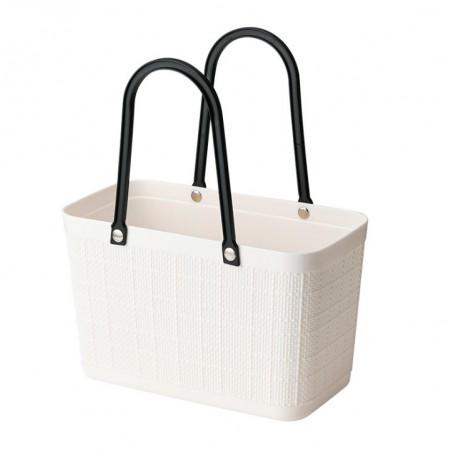 Torebka koszyk zakupowy letni biel ORM03B