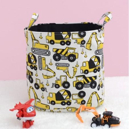 Pojemnik na zabawki, kosz, worek na pranie samochodziki OR30WZ6