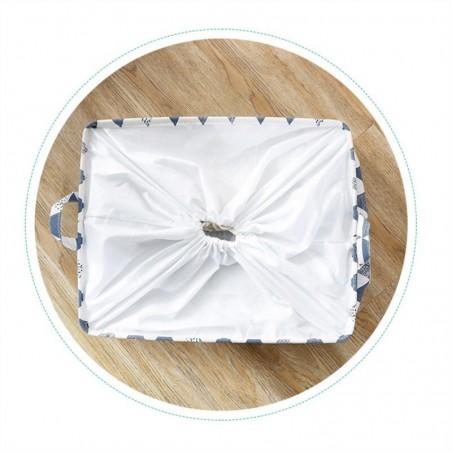 copy of Pojemnik na zabawki kosz, worek na pranie ze ściągaczem 50x40x50 cm OR52WZ6