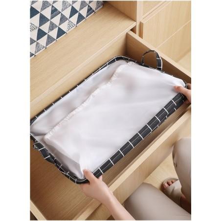 Pojemnik na zabawki kosz, worek na pranie ze ściągaczem 50x40x50 cm OR52WZ8
