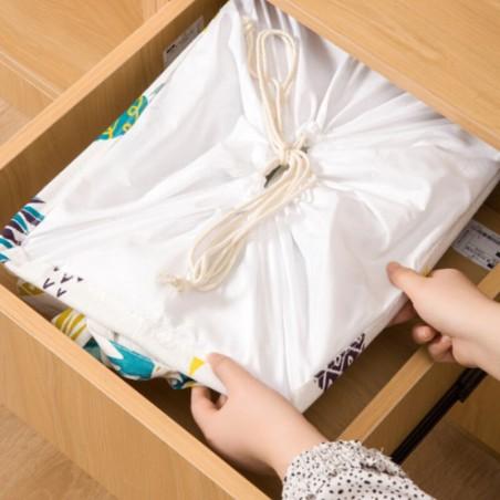 Pojemnik na zabawki kosz, worek na pranie ze ściągaczem 50x40x50 cm OR52WZ9