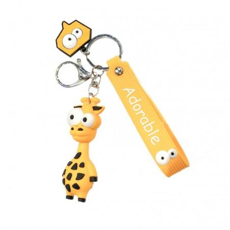 Brelok do kluczy żyrafa przywieszki BRL46POM