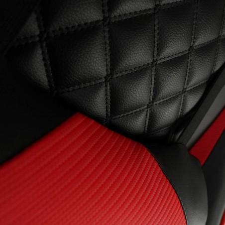 Fotel gamingowy Raptor - X obrotowy biurowy czarno - czerwony KO10CZE
