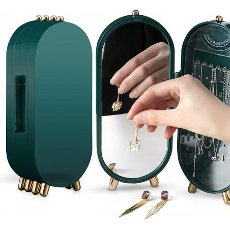 Organizer na biżuterię zielony CB16ZIE