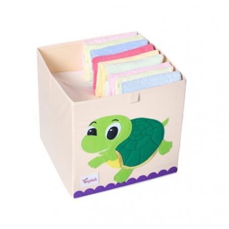 Pojemnik na zabawki sztywny, filc, żółw OR4WZ17