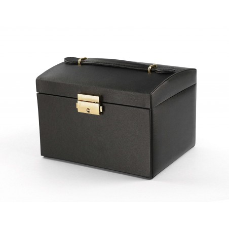 Szkatułka na biżuterię elegant czarna PD49CZ