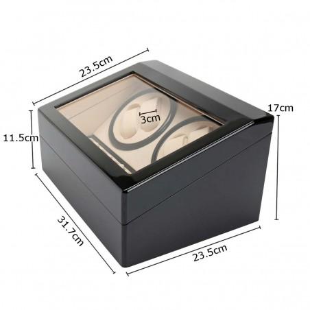 Rotomat na zegarek automatyczny, szkatułka gablotka lakierowana PD104