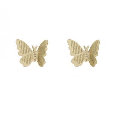 KOLCZYKI sztyfty motylki K1543