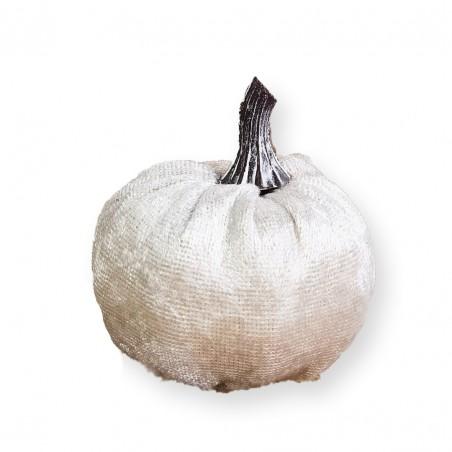 Stojąca ozdoba Welurowa dynia jesienna OZL01K