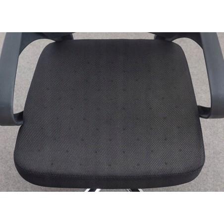 Fotel obrotowy z zagłówkiem mikrosiatka KO04SZ
