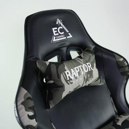 Fotel gamingowy obrotowy z podnóżkiem EC GAMING KO02MORO