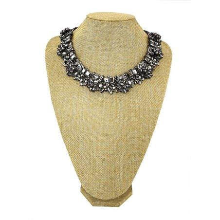 Ekspozytor stojak na biżuterię naszyjniki 28 cm