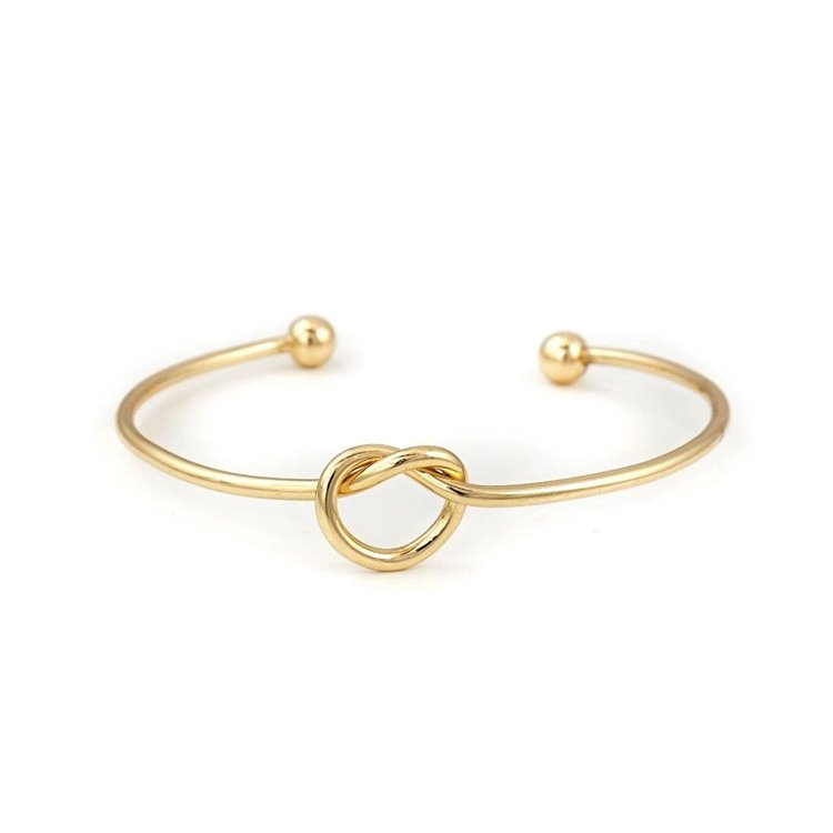 Armband Knoten Gold