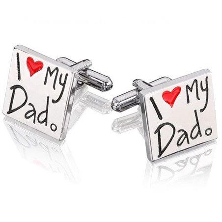Spinki do mankietów i love dad s14
