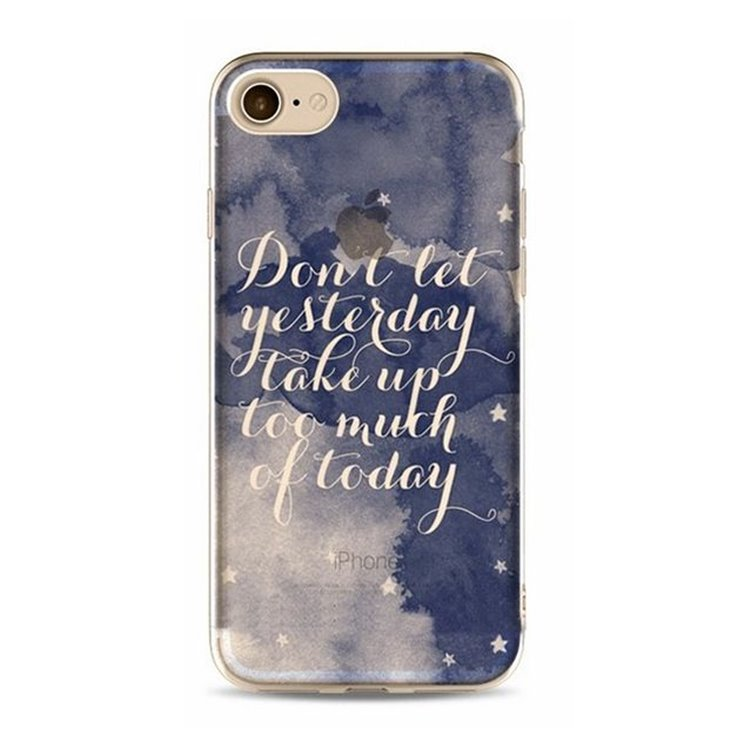 ETUI NA TELEFON IPHONE 5/5S - DON'T LET YESTERDAY ETUI16WZ3