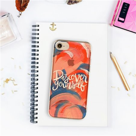 ETUI NA TELEFON IPHONE 5/5S - DISCOVER YOURSELF ETUI16WZ4