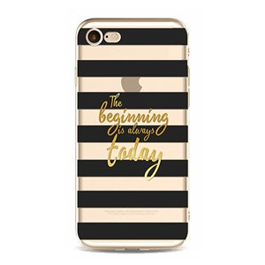 ETUI NA TELEFON IPHONE 5/5S - THE BEGINNING IS ALWAYS TODAY ETUI16WZ9