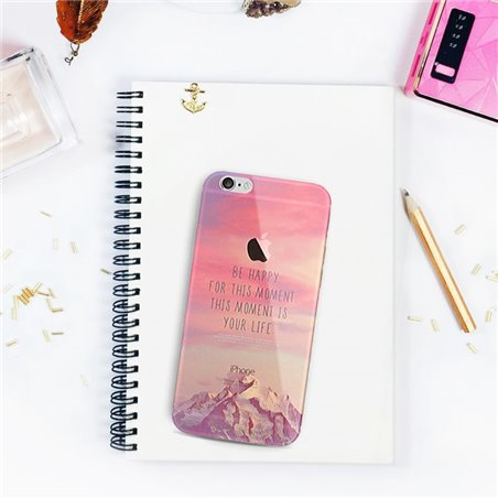ETUI NA TELEFON IPHONE 5/5S - BE HAPPY FOR THIS MOMENT ETUI16WZ25