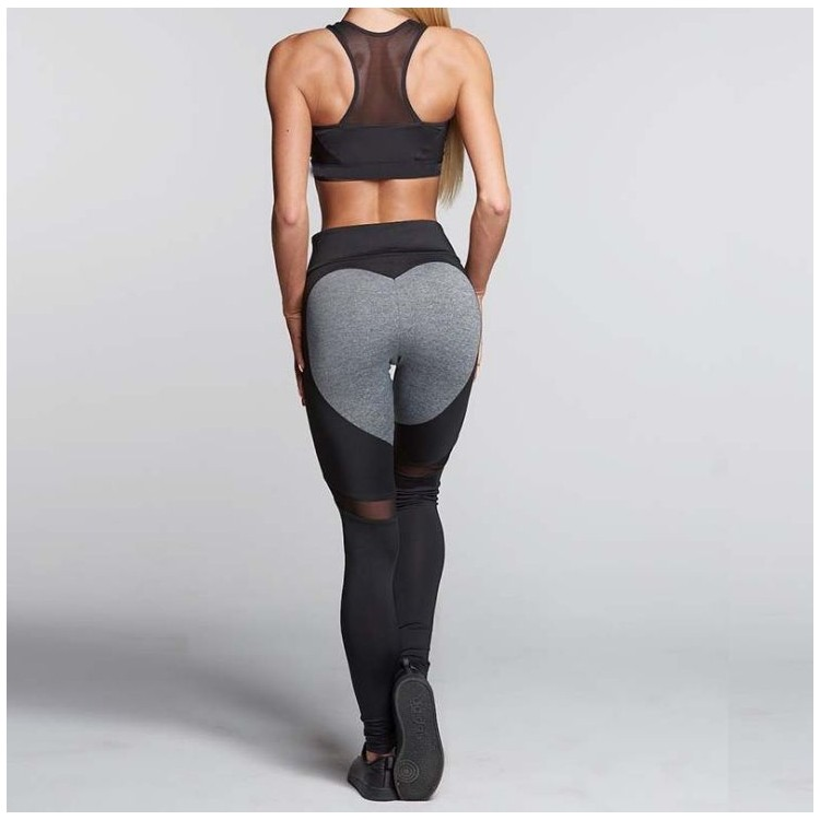 Sportowe Legginsy Fitness Trening M LEG6M
