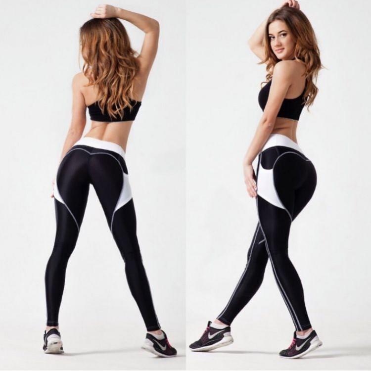 Sportowe Legginsy Fitness Trening L LEG10L