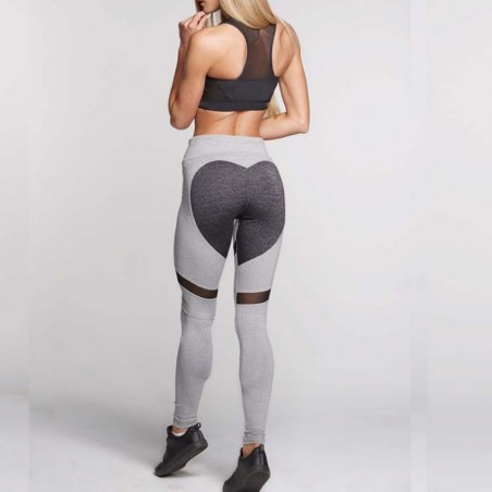 Sportowe Legginsy Fitness Trening S LEG7S