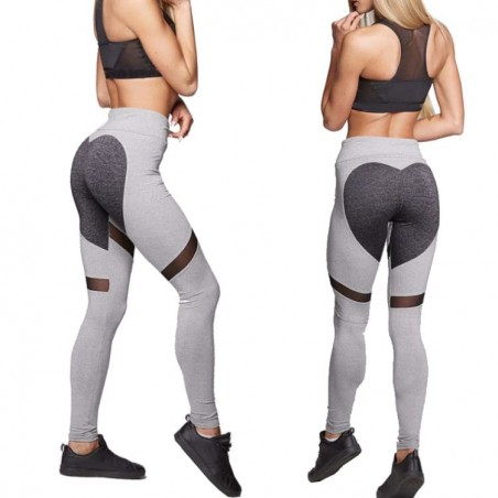 Sportowe Legginsy Fitness Trening L LEG7L