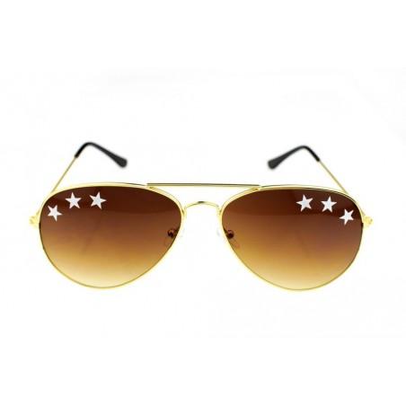 OKULARY STARS AVIATOR OK133BR