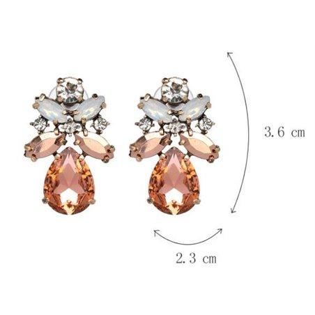 Kolczyki kryształki K1009