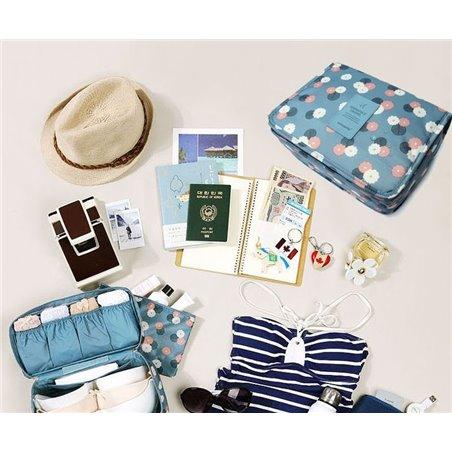 Organizer for cosmetics, navy blue toilet bag KS18WZ6