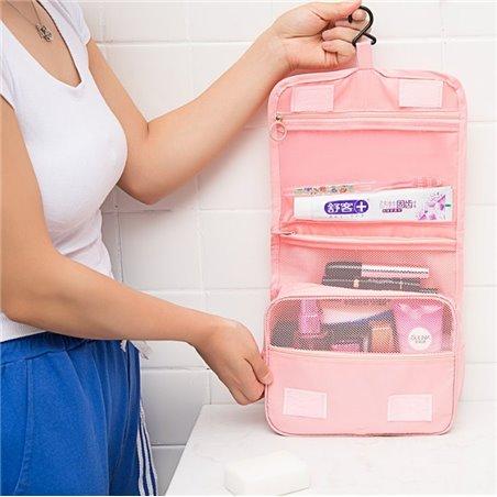 Organizer kosmetyczka rozkładana flamingi KS25FLAM