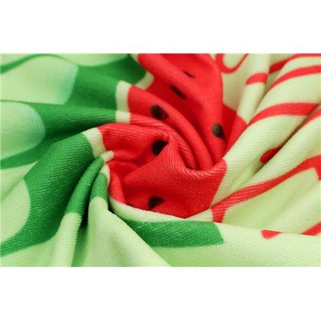 RĘCZNIK PLAŻOWY 170x90 Zielony Arbuz REC43WZ7