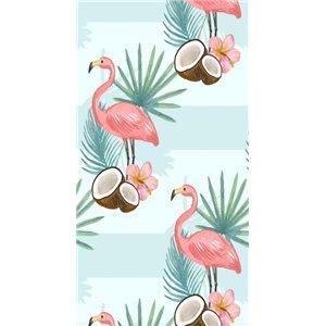 RĘCZNIK PLAŻOWY 170x90 Flamingi i Kokos REC43WZ25