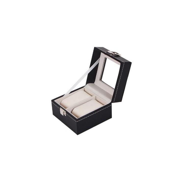 Szkatułka pudełko etui na 2 zegarki PD14