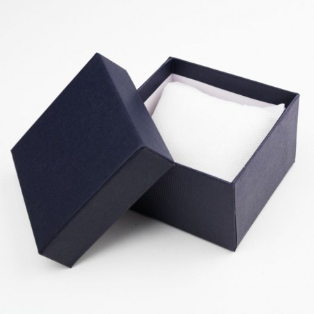 Pudełeczko Ozdobne Na Zegarek Granat PD9GRAN