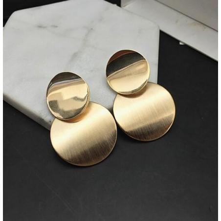 Kolczyki wiszące złote K1033