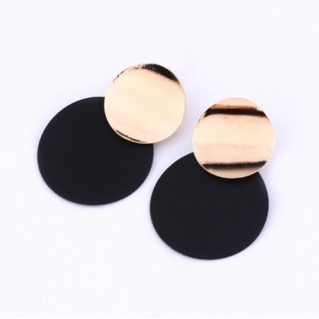 Kolczyki wiszące złote K1034