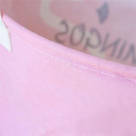Pojemnik kosz worek na zabawki lub pranie ombre szaro miętowy OR2WZ75