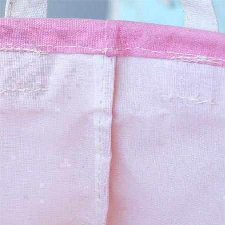 Pojemnik kosz worek na zabawki lub pranie ombre różowo miętowa OR2WZ76
