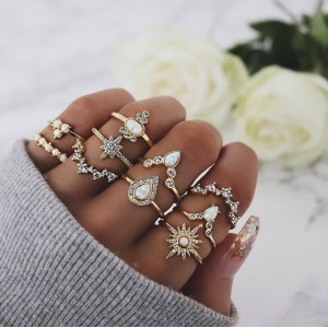copy of Rings set 10 pcs...