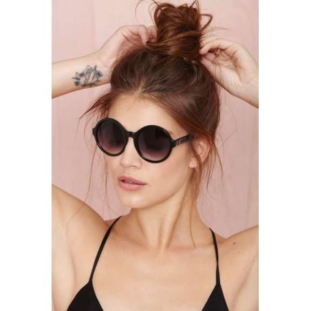 Okulary przeciwsłoneczne czarne OK170