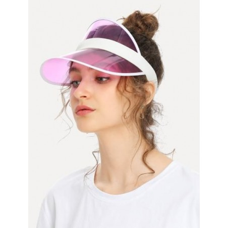 Transparent women's cap CZ10R