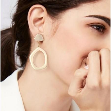 Kolczyki wiszące masa uchu K1131