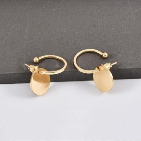 Kolczyki złote przy uchu K1080Z