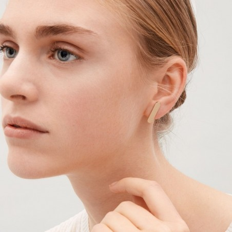 Kolczyki złote przy uchu K1078Z